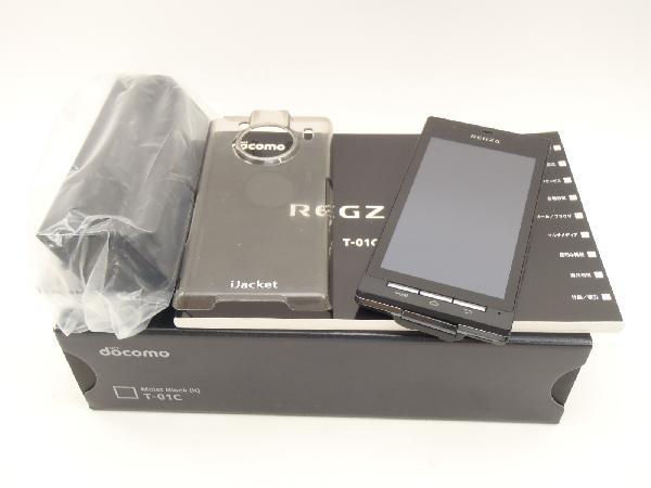 REGZA Phone T-01C docomo [Moist Black]