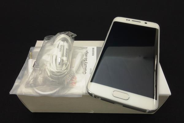 Galaxy S6 edge SCV31 64GB au [�z���C�g �p�[��]