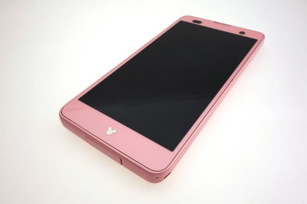 Disney Mobile on docomo F-07E [Light Pink]