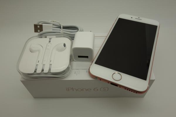 iPhone 6s 16GB au [���[�Y�S�[���h]