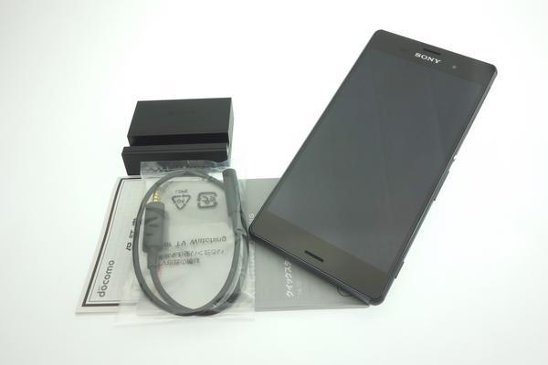 Xperia Z3 SO-01G docomo [Black]