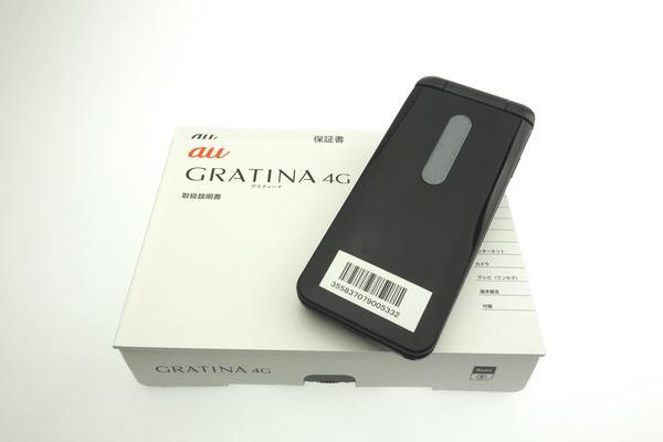 GRATINA 4G KYF31 [ブラック]