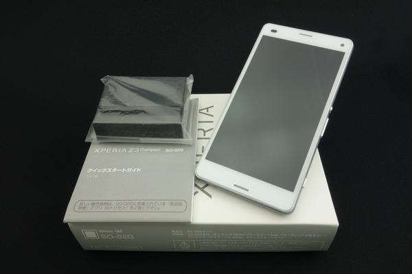 Xperia Z3 Compact SO-02G docomo [White]