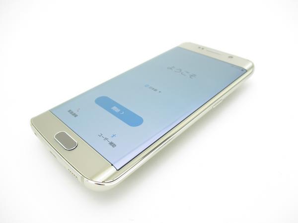 Galaxy S6 edge SC-04G docomo [Gold Platinum]