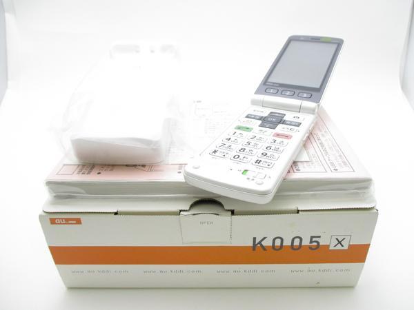 簡単ケータイ K005