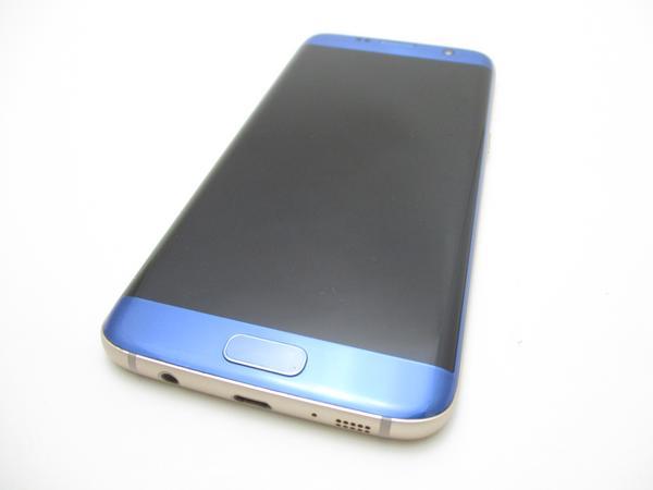 Galaxy S7 edge SCV33 au [ブルー コーラル]