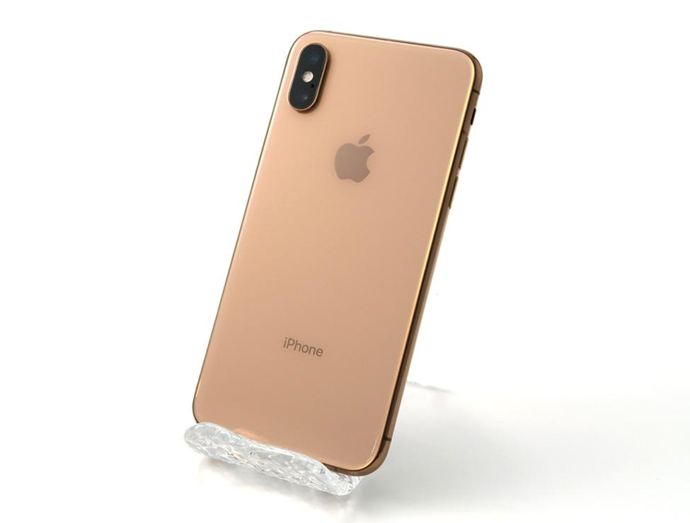 iPhone XS 64GB au [ゴールド]