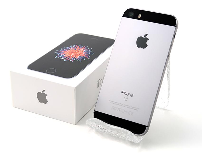 iPhone SE (第1世代) 64GB SoftBank [スペースグレイ]