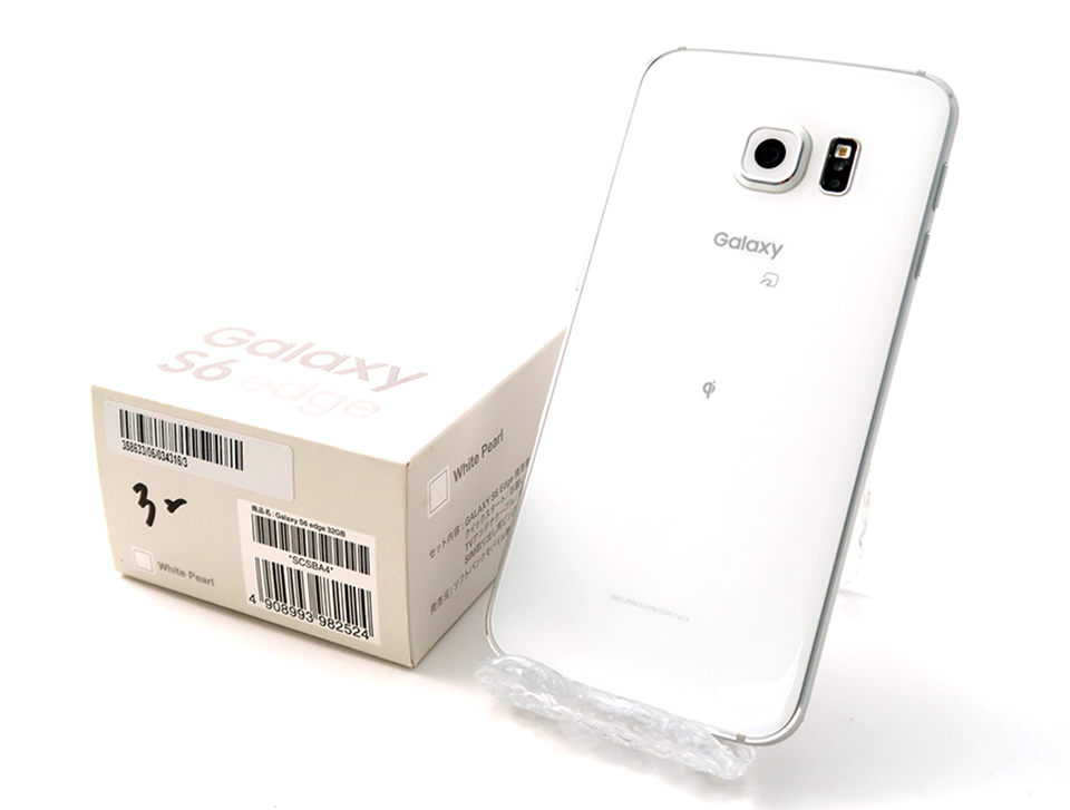 Galaxy S6 edge 32GB SoftBank [ホワイトパール]