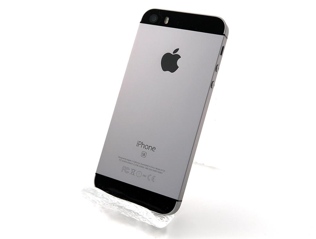 iPhone SE (第1世代) 16GB docomo [スペースグレイ]
